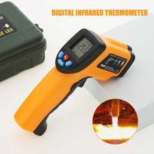 50-550 Degree Non-contact Digital Infrared Forehead Thermometer LCD IR Laser Point Gun Temperature Baby Adult Meter Pyrometer(China)