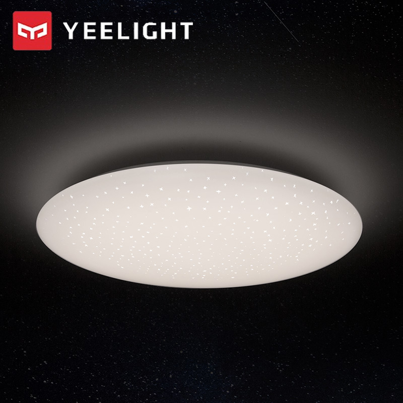 Yeelight Modern Smart LED Ceiling Light Round Shape Indoor Lamp APP WiFi Bluetooth Remote Control JIAOYUE 480 YLXD05YL 220V 32W