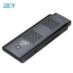 XCY Мини ПК палка Intel Celeron N4100 Четырехъядерный 4 Гб LPDDR4 128 ГБ eMMC HDMI 2,0 4K 60Hz 2,4G/5,0G WiFi Bluetooth 4,2 Windows 10
