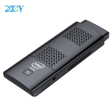XCY Mini PC Stick Intel Celeron N4100 Quad-core 4GB LPDDR4 128GB eMMC HDMI 2.0 4K 60Hz 2.4G/5.0G WiFi Bluetooth 4.2 Windows 10