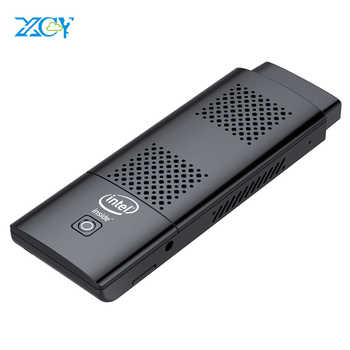 XCY Mini PC Stick Intel Celeron N4100 Quad-cores 4GB LPDDR4 128GB eMMC HDMI 2.0 4K 60Hz 2.4G/5.0G WiFi Bluetooth 4.2 Windows 10 - DISCOUNT ITEM  50 OFF Computer & Office