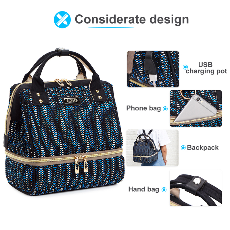 Hf35b31c0c1344454b8b80254f12df9cdi Diaper Bag Backpack For Moms Waterproof Large Capacity Stroller Diaper Organizer Unicorn Maternity Bags Nappy Changing Baby Bag