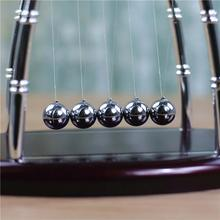New Newton Cradle Balance Ball Science Puzzle Fun Desk Toy Stress Reliever Kinetic Motion Toy For Home And Office