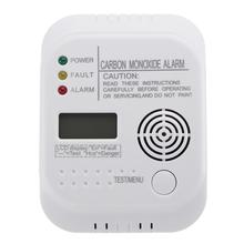 CO Carbon Monoxide Alarm Detector LCD Digital Home Security Indepedent Sensor Safety