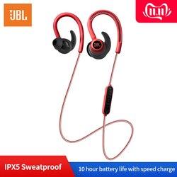 JBL Reflect Contour słuchawki bezprzewodowe z bluetooth Jbl Stereo IPX5 Sweatproof słuchawki z mikrofonem Sport przenośne słuchawki douszne w Słuchawki douszne i nauszne Bluetooth od Elektronika użytkowa na