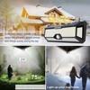 Led Solar Street Light Outdoor luminaire Garden Lights Solar Powered Street Lamp with Motion Sensor Lantern Plaza Wall Lighting promo