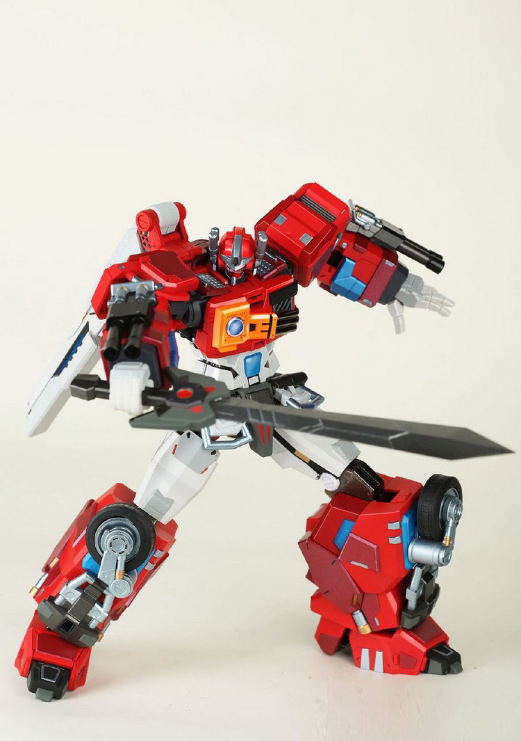 Bananaa Force BF MPL-01 MPL01 Red Sharpshooter RID 2001 OP Fire Convoy Transformation Action Figure
