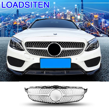 Accessory Auto Styling Upgraded Exterior Automobile Protector Car Accessories Racing Grills FOR Mercedes Benz GLC Class