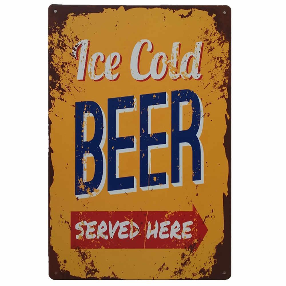 Vintage Metallo Tin Sign Poster Targa Bar Pub Club Cafe Piatto di Casa Decorazione Della Parete di Arte Decorazione Della Barra D'epoca Decorazione Adesivi arte Poste