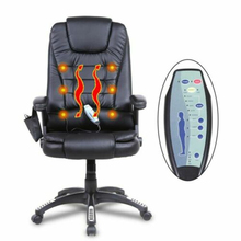 Free Shipping Premium Executive Office Massage Chair Ergonomic 6 Point Vibrating Swivel  Internet Cafe Chair Gaming Office Chair