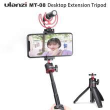 Ulanzi – trépied extensible Vlog pour appareil photo reflex numérique, pour Sony A6400 A6600 RX100 ZV1 Canon G7X Nikon