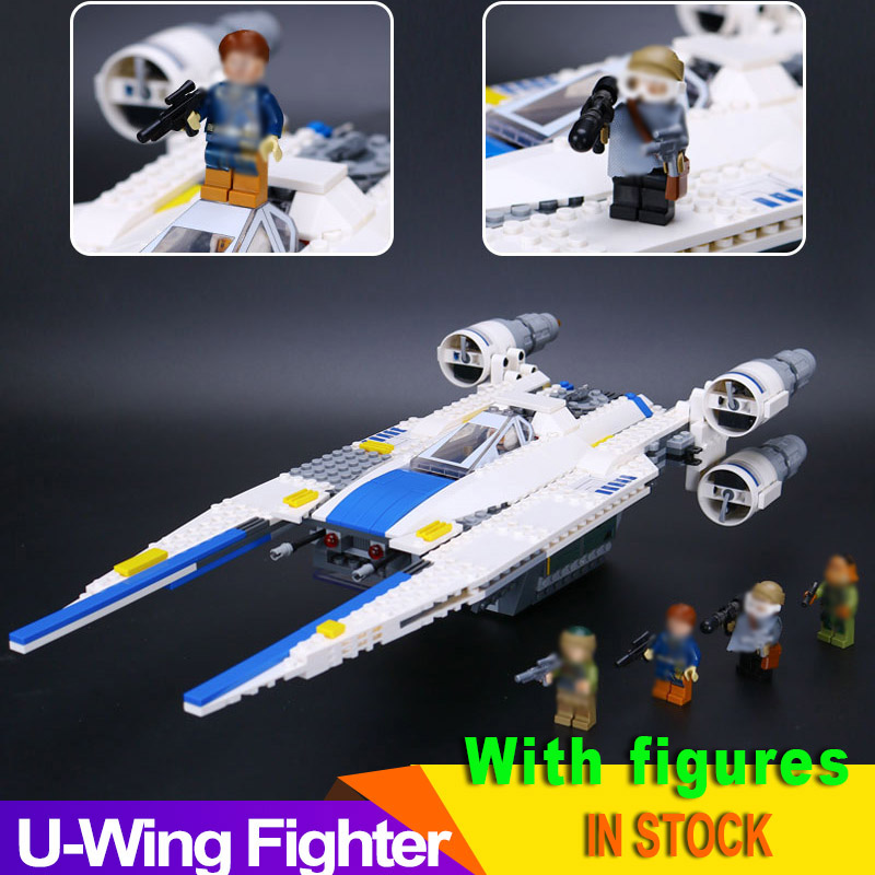 Star Wars Rebel U-Wing Fighter 75155 679 pcs Building Blocks Bricks With Figure