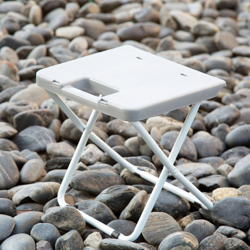 Mini Portable Folding Chair Outdoor Fishing Camping Travel Picnic Stool Seat Adult Plastic Small Chair Household Chair Bench