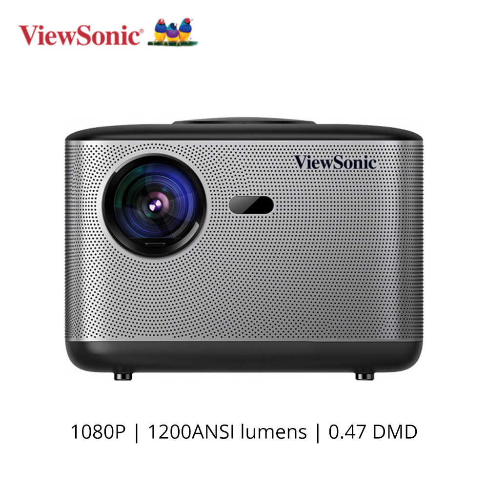 ViewSonic Q5 DLP Proyektor 1920*1080P Video TV DLP Projector 1200 ANSI Lumen Android WIFI Bluetooth Dolby 5.1 proyektor Bioskop Rumah