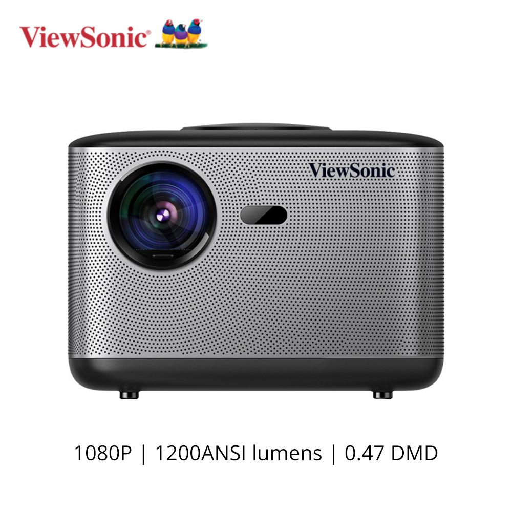 Viewsonic Q5 DLP Projektor 1920*1080P Video <font><b>TV</b></font> DLP <font><b>Proyector</b></font> 1200 ansi Lumen Android Wifi Bluetooth Dolby 5,1 beamer Home Cinema image