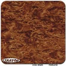 iTAATOP Wood Hydrographic Printing TSWL016 0.5M * 2/10/20M Water Transfer Printing Film