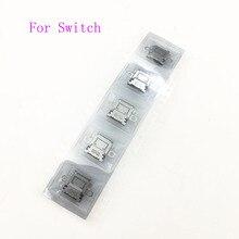6PCS Neue Original Lade Port Power Stecker Typ C Ladegerät Buchse für Nintendo Schalter NS