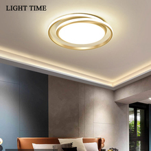 Led Chandelier Luster-Lamp Indoor-Lighting Bedroom Living-Room Gold Modern Black White