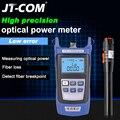 2 в 1 FTTH Набор инструментов для оптического волокна волоконно-оптический измеритель мощности-70 + 10dBm и 10 км 10 мВт Визуальный дефектоскоп Волок...