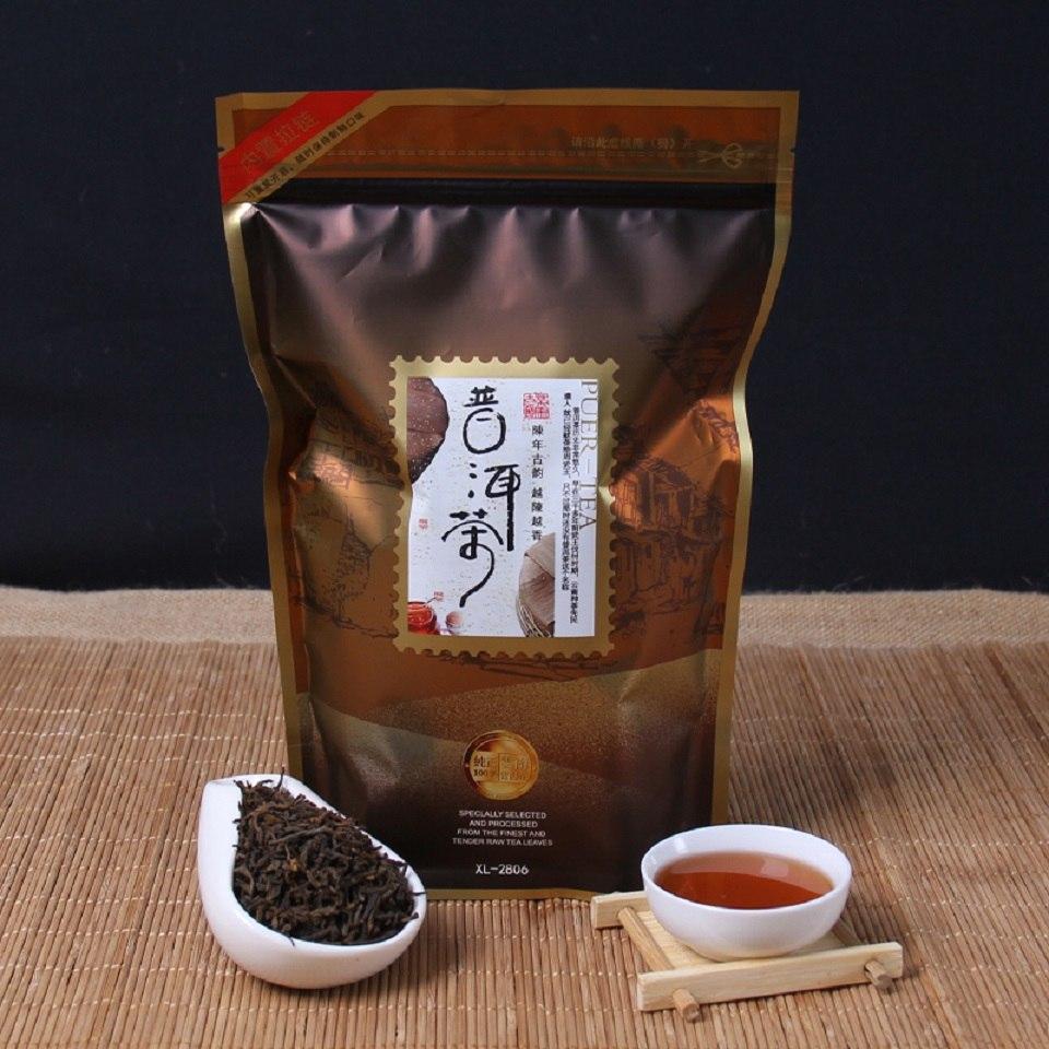 Chinese Yunnan Original Loose Puer Tea Promotion Top Grade Health Care Tea Ripe Pu'er Pu Er Puerh Tea Natural Organic Health Tea