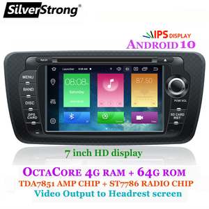 SilverStrong Android10-9.0 OCTACORE 4G 64G Ibiza Car DVD for Seat Ibiza IPS 7inch Android Radio Ibiza GPS with CARPLAY option(Hong Kong,China)
