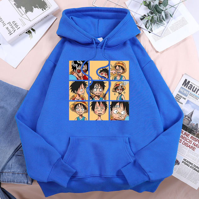 ONE PIECE THEMED HOODIE (13 VARIAN)