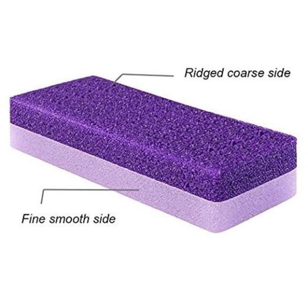 2pcs Cleansing Pumice Stone Exfoliating Foot Health Care Dead Skin Callus Corn Remover Pedicure Tools 4