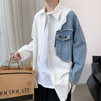 Camisa Hawaiana De Manga Larga Para Hombre De Camisa Masculina De Moda...