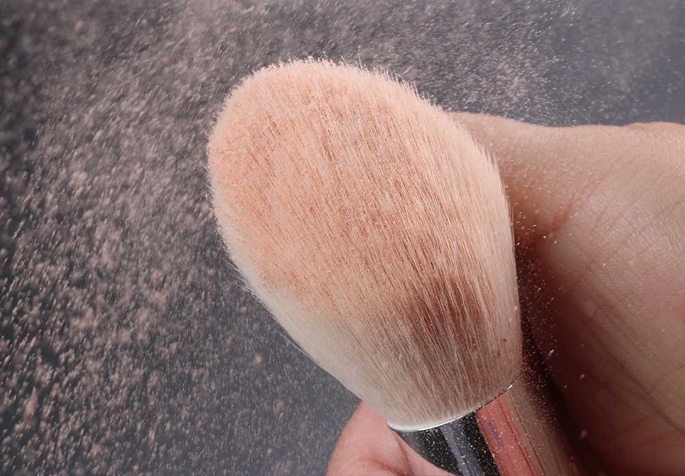 de maquiagem profissional conjunto de cabelo natural