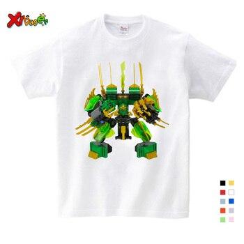 Camiseta de Niños de dibujos animados para niños y niñas, camiseta de niños, Camiseta de algodón para niños, camisetas de moda de verano para niños 3-12y