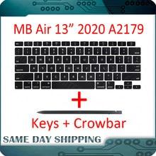 Portátil a2179 keycaps chaves chave boné teclados scissor reparação substituição para apple macbook ar retina 13