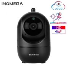 Inqmega câmera de vigilância residencial, hd 4mp em nuvem sem fio ip inteligente com auto rastreamento de presença, vigilância residencial cctv rede wi fi