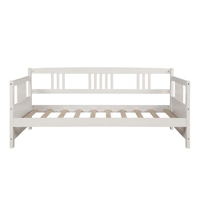 Wooden Bed  Pine Frame  6