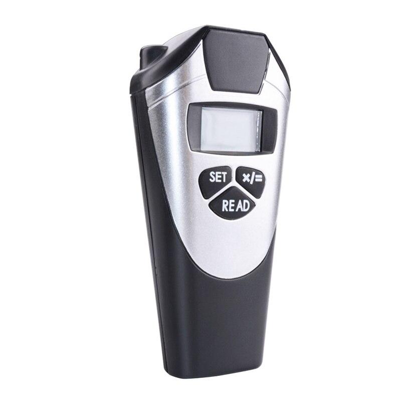LCD Digital Laser Rangefinder Ultrasonic Distance Meter 0.5-18cm Range Finder Distance Measuring Tool Laser Distance Measurer