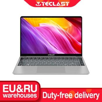 "Teclast-Ordenador portátil F7 Plus 8GB RAM de 14.1"", notebook Windows 10 con teclado retroiluminado FULL HD 1920x1080 Intel lake Gemini N4100, SSD de 256GB"