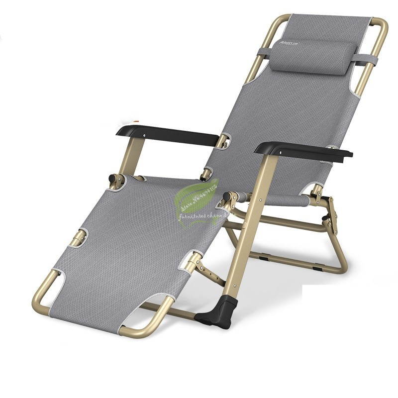 Multi-function Beach Chair Autumn And Winter Recliner Folding Lunch Break Siesta Bed Home Lazy Backrest Portable