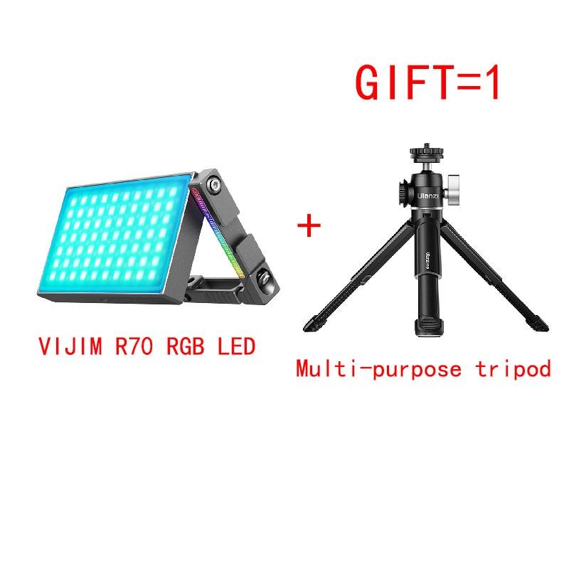 VIJIM R70 портативный наружный полноцветный RGB с зеркальными камерами, как заполнить светильник защитное покрытие однообъективной камеры фото...