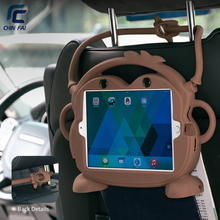 CHINFAI Детский дружественный силиконовый чехол для iPad Mini 1 2 3 4 5 7,9 противоударный нетоксичный чехол для iPad Air2 Pro 9,7''