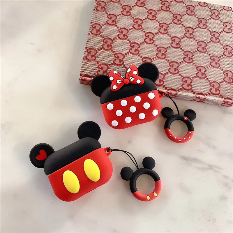Cute 3D Silicone Case for AirPods Pro 145