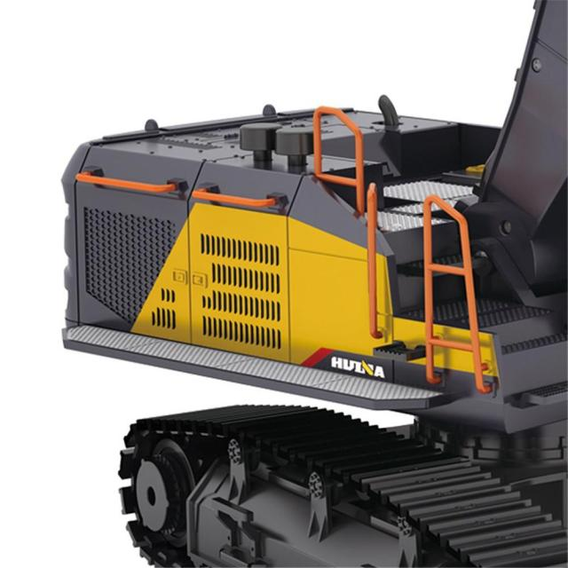 RCtown HuiNa 1:14 1592 RC Alloy Excavator 22CH Big RC Trucks Simulation Excavator Remote Control Vehicle Toy for Boys 5