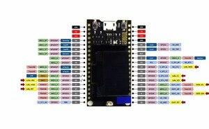 Image 4 - 2 ピース/セット TTGO LORA SX1278 ESP32 0.96 oled 32Mt ビット (4 メガバイト) 433 Arduino のための