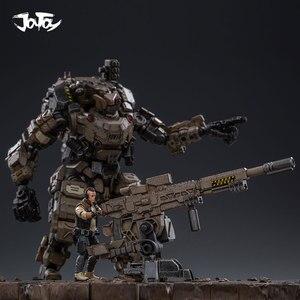 Image 3 - JOYTOY 1:25 figur roboter FSTEEL KNOCHEN MECH Militär modell puppe Mecha Weihnachten präsentieren geschenk Freies verschiffen