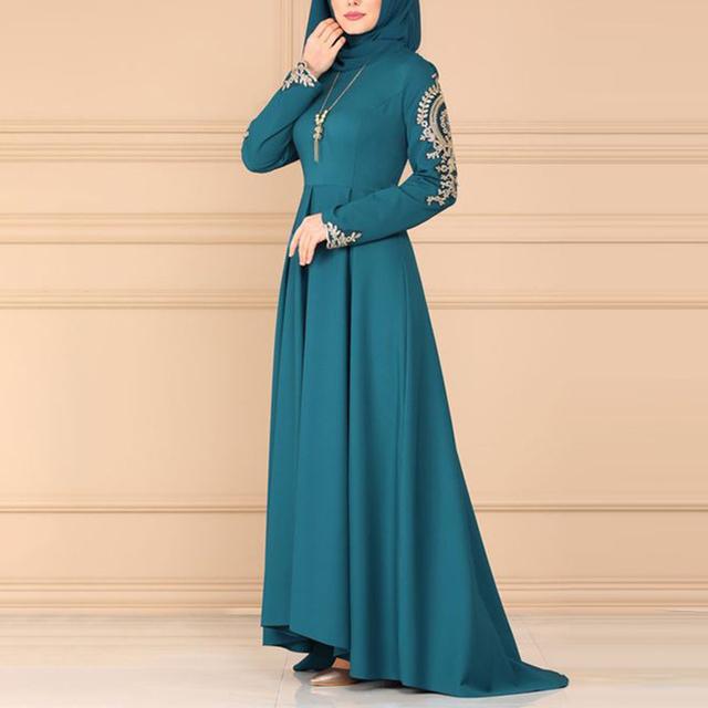 Smart Turkish Abaya Women Party Dress