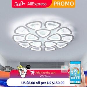 Image 1 - חדש led נברשת לסלון חדר שינה נברשת בית על ידי sala מודרני Led תקרת נברשת בית תאורת נברשת
