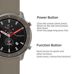 Image 5 - Küresel sürüm Amazfit GTR 47mm akıllı saat 5ATM yeni Smartwatch 24 gün pil müzik kontrol cihazı Android IOS telefon için
