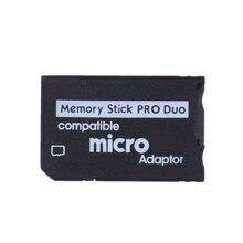 Wsparcie 128 mb do 2 GB karta pamięci Micro SD i 4 GB Mini pendrive Pro Duo czytnik kart nowy Micro SD TF do MS Adapter do kart