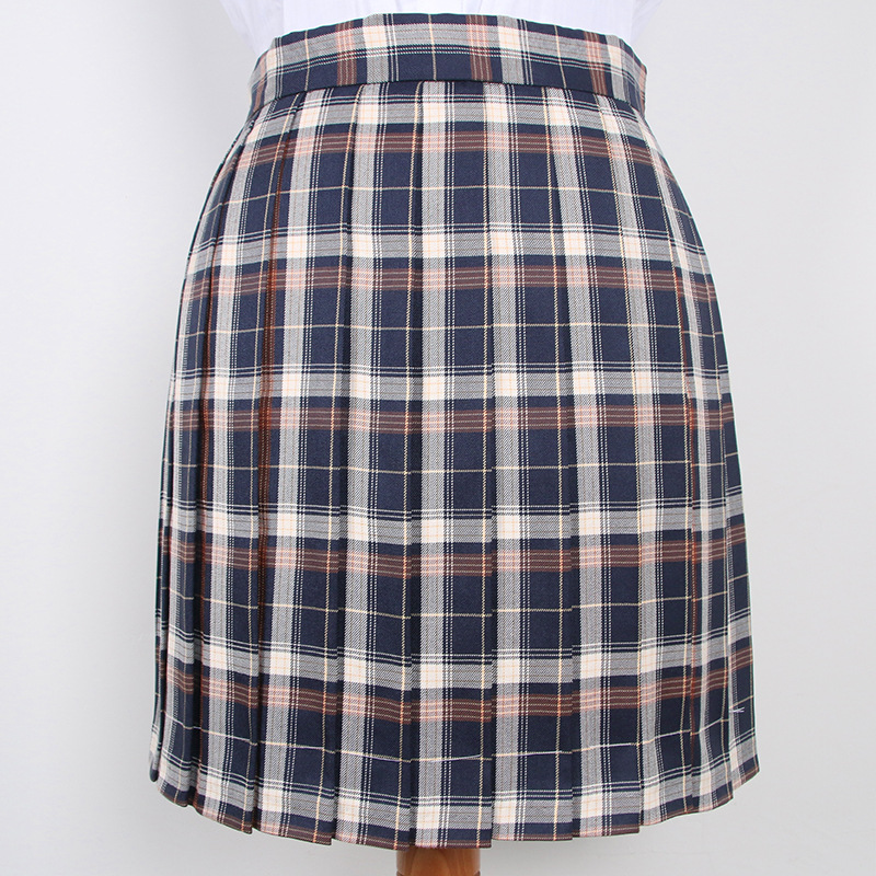 2019 High Waist Cotton Short Skirt Japanese JK School Girls Short Mini Skinny Skirts
