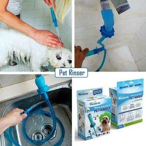 Pulverizadores de banho us connector cães gatos lavagem acessório mangueira de chuveiro de animais de estimação sprinkler handheld rinser