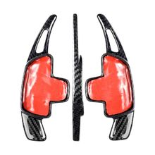 Carbon Fiber Steering Wheel Shift Paddle Extension Shifters For Mercedes Benz