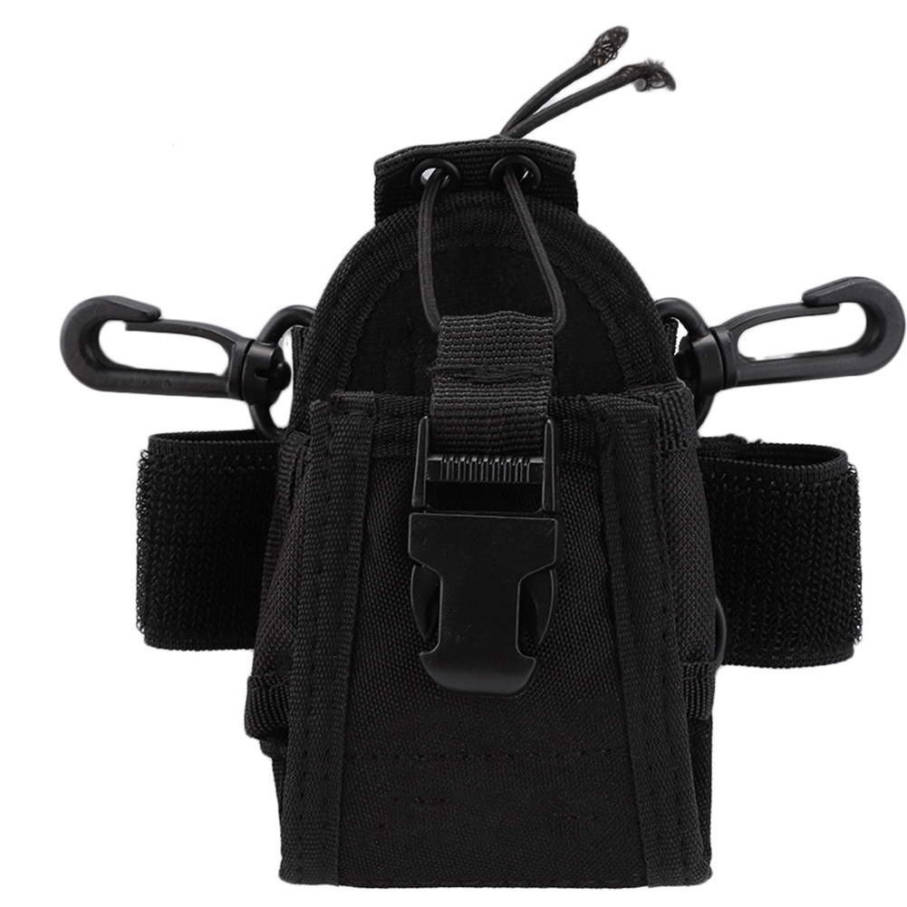 Outdoor Portable Nylon Walkie Talkie Bag Anti-Fall Carry Pouch Bags Waterproof For Baofeng UV5R DM5R UV82 TYT MD380